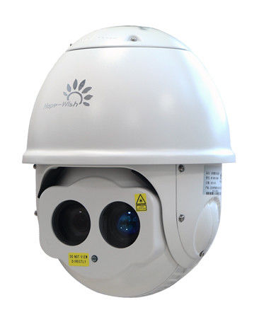 HD High Speed Dome Laser Infrared Camera , 360 Degree Megapixel PTZ IP Camera