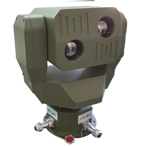 Military Grade PTZ Infrared Thermal Surveillance System For Coastal Surveillance