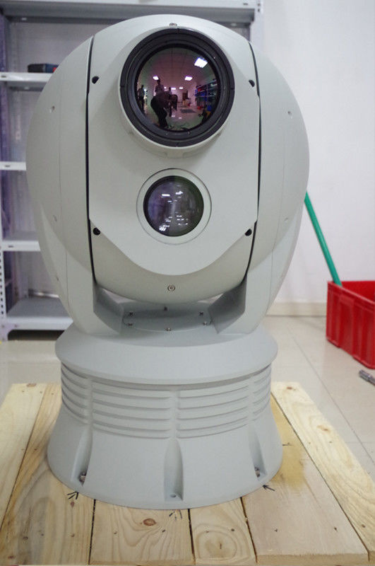 640 X 512 MWIR Cooled Thermal Imaging Camera PTZ Surveillance System