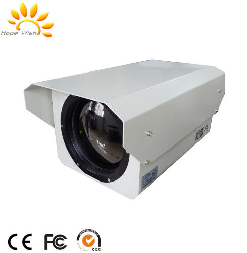 Outdoor Surveillance IR Thermal Imaging Camera , Pan Tilt Zoom Security Camera